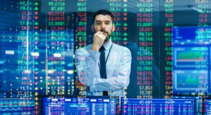 A young male dividend investor