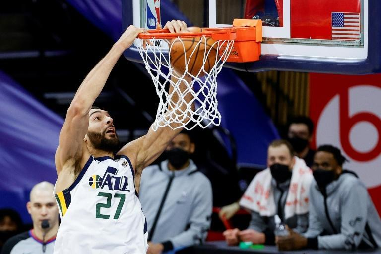 Utah center Rudy Gobert was fined $20,000 for criticism of officiating after the Jazz loss Wednesday at Philadelphia