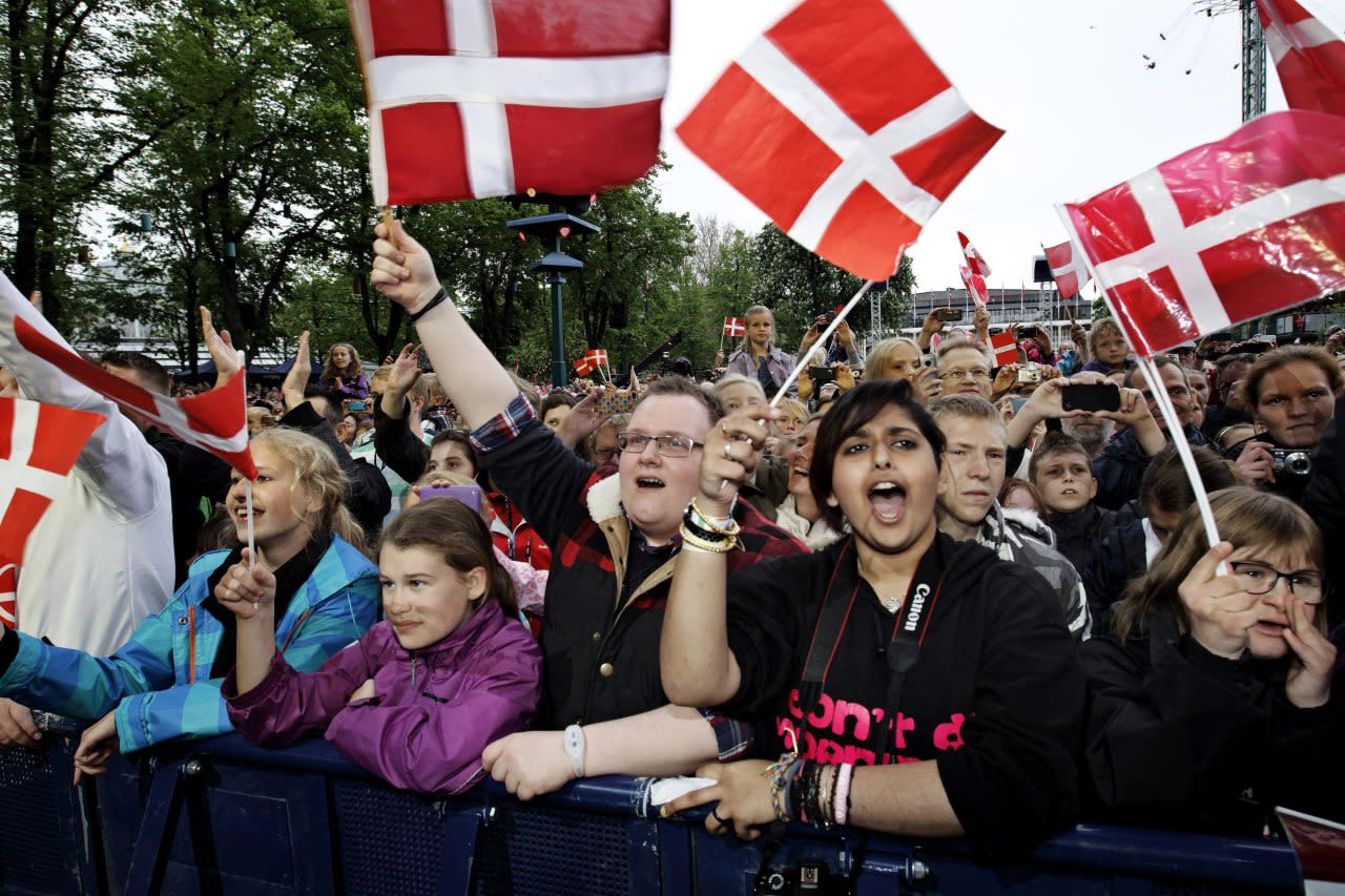 Denmark takes third spot in the rankings with a score of 89.39. (Jens Dresling/Polfoto via AP)