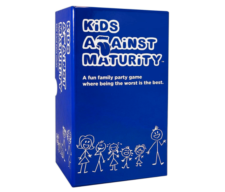 Kids Against Maturity: Card Game for Kids and Families. Image via Amazon.