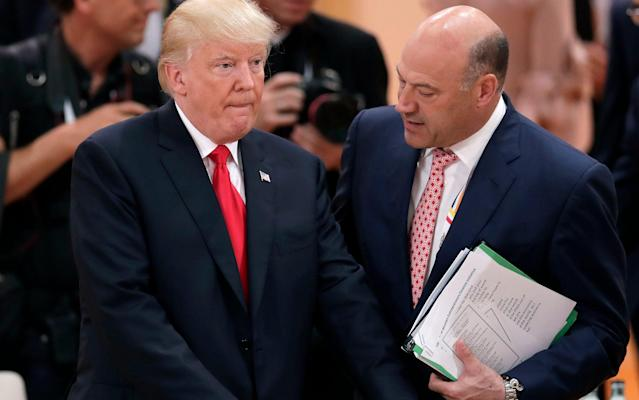 Donald Trump's top economic adviser Gary Cohn (R) had long been rumored to be in the running to be the next Fed Chair. That will not be happening anymore, according to reports.