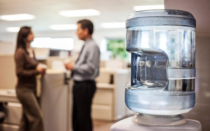Office water cooler - Mint Images