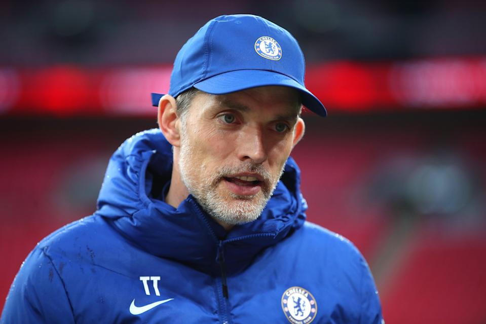 """<p>Tuchel: """"We have a lot to do and we cannot regret too long.""""</p> (Getty Images)"""