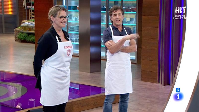 Ainhoa Arteta en 'MasterChef'. (Photo: TVE)