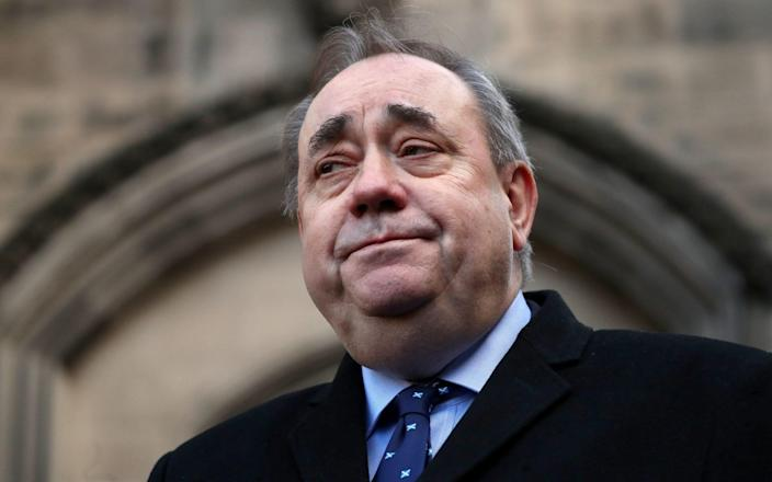 Alex Salmond was cleared of all charges - Jane Barlow/PA