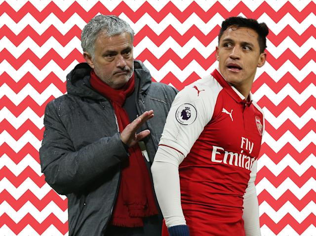 Alexis Sanchez is set to sign for Manchester United