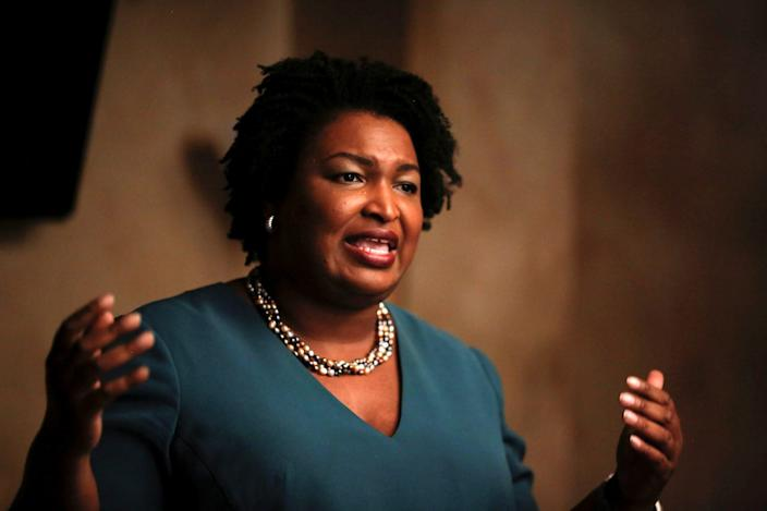 Stacey Abrams, a 2014 EMILY's list rising star who's running for governor of Georgia.