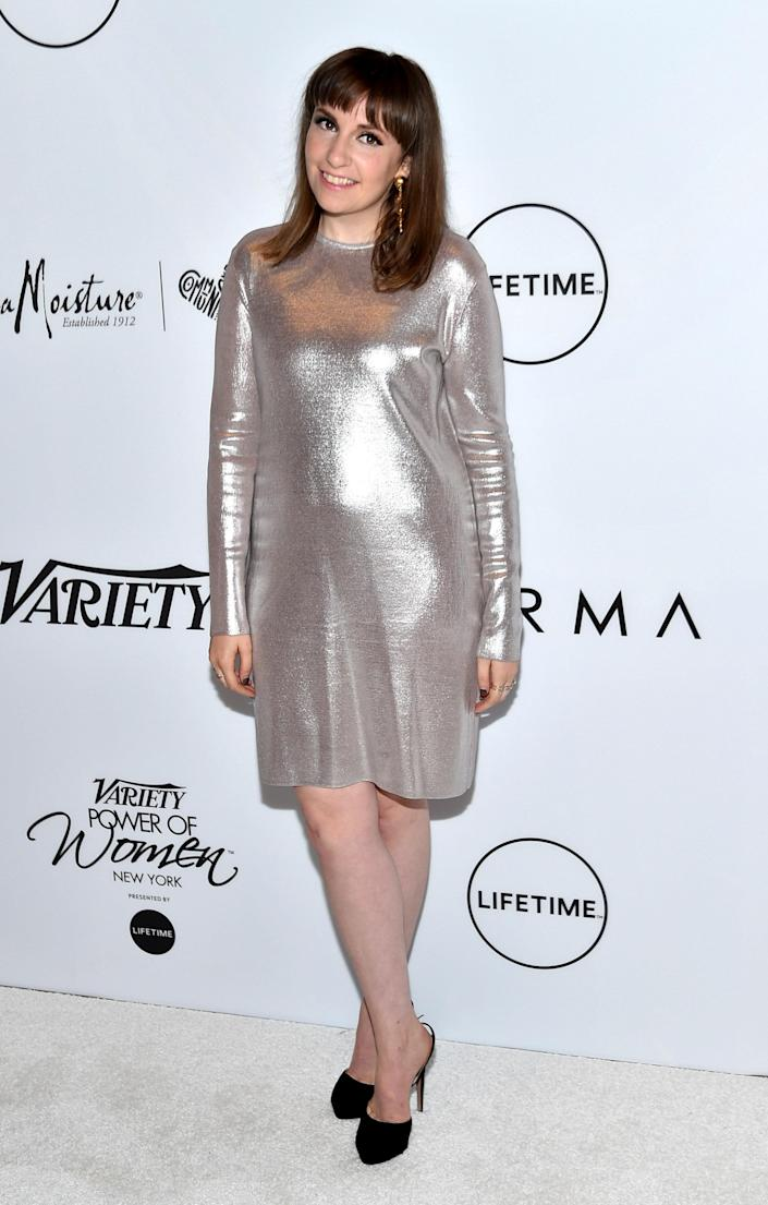 Lena Dunham Isnt Joking Anymore With Body-Positive Nude