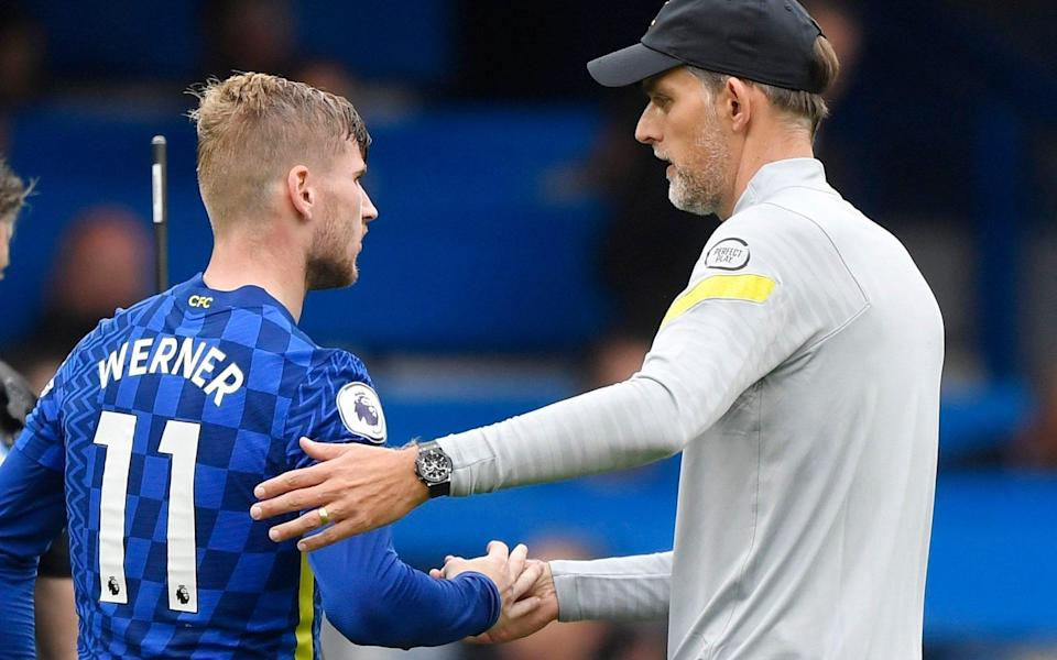 Werner is said to be growing concerned about his position in the Chelsea squad - Reuters