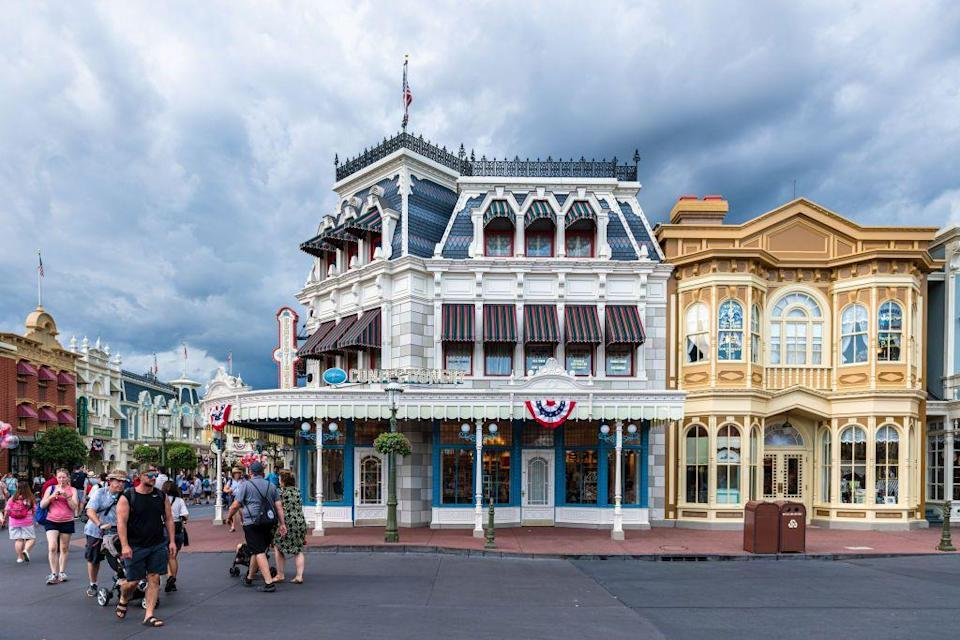 <p>Another secret about the flags on Main Street: They double as lightning rods.</p>