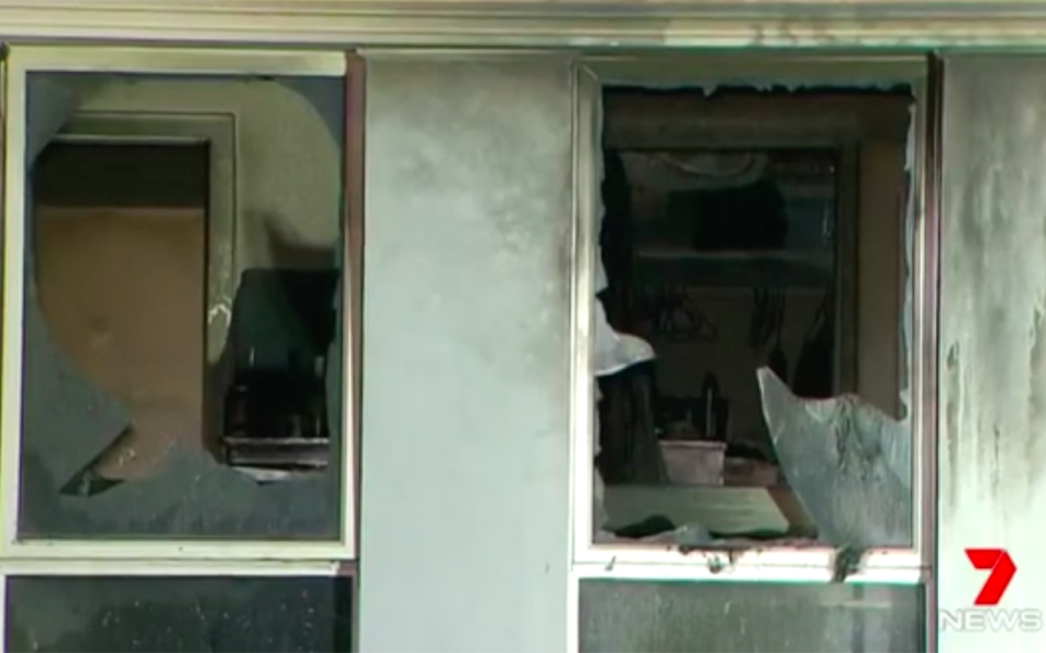 The house has an estimated $100,000 in damage. Source: 7 News
