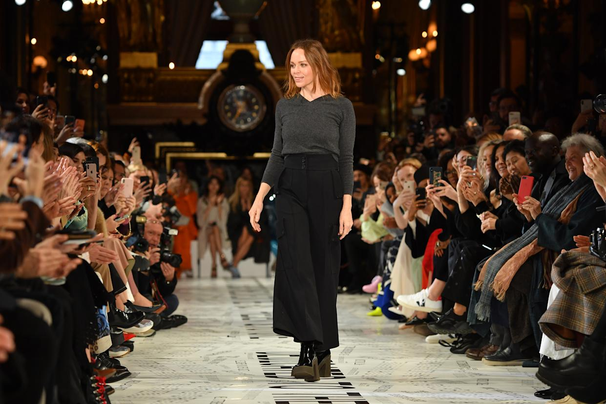 Fashion designer, Stella McCartney, has suggested that we shouldn't be cleaning our clothes, after all. [Photo: Getty]