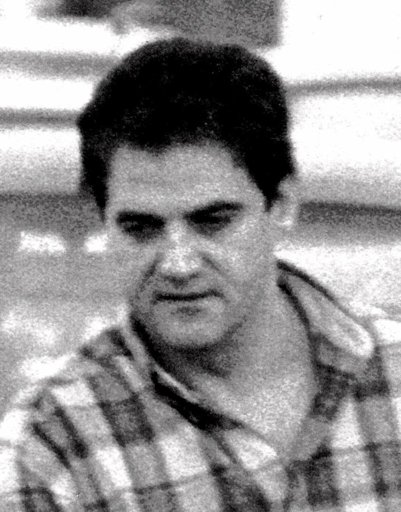 A 1998 photo of Javier Arizcuren-Ruiz, also known as Kantauri, the head of the Basque separatist group ETA's military wing, who was arrested in Paris Tuesday, March 9, 1999. Kantauri, being investigated for an alleged role in 18 killings during ETA's armed struggle, is accused of ordering the failed 1995 assassination of Spain's King Juan Carlos. (AP Photo/str)