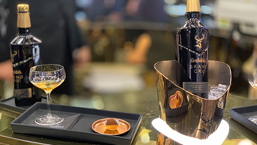 Glenfiddich Grand Cru Single Malt Whisky: A Taste of Luxury and the Spirit of Celebrations with DFS in Changi Aiport Singapore