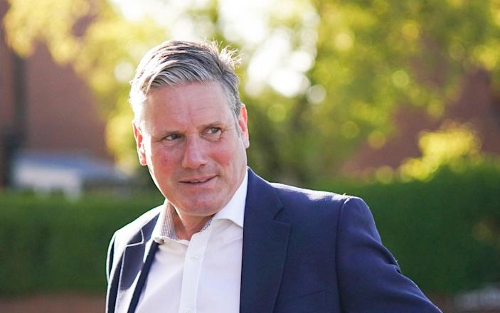 Sir Keir Starmer said he would take responsibility, whatever the outcome - Getty