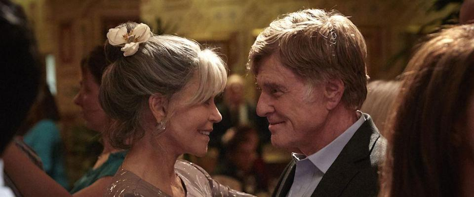 """<p>Legends Jane Fonda and Robert Redford light up the screen in this drama, a testament to love that comes later in life. Addie Moore (Fonda) and Louis Waters (Redford) are next-door neighbors who seek each other out to ease their loneliness, and find so much more.</p><p><a class=""""link rapid-noclick-resp"""" href=""""https://www.netflix.com/title/80104068"""" rel=""""nofollow noopener"""" target=""""_blank"""" data-ylk=""""slk:Watch Now"""">Watch Now</a></p>"""
