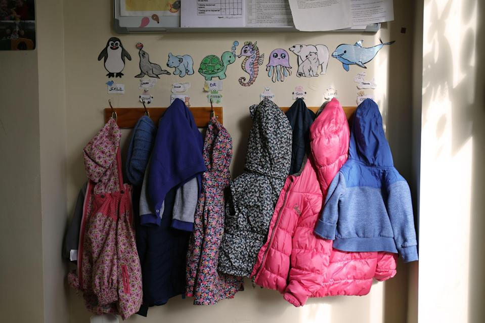 Children's coats (Niall Carson/PA) (PA Archive)