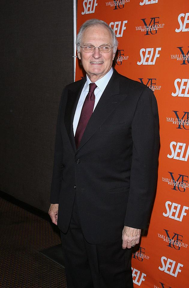 "<a href=""http://movies.yahoo.com/movie/contributor/1800025914"">Alan Alda</a> at the New York screening of <a href=""http://movies.yahoo.com/movie/1809944318/info"">Nothing But the Truth</a> - 11/13/2008"
