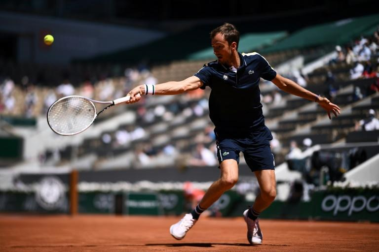Medvedev was much improved compared to his recent clay-court form