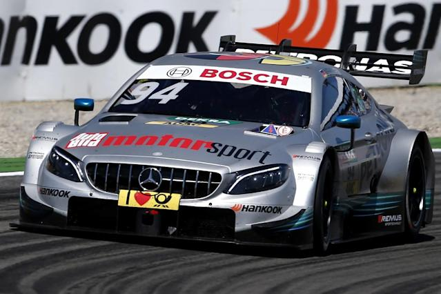 Ex-Manor and Sauber Formula 1 driver Pascal Wehrlein continued his strong return to the DTM by topping the first practice session of the weekend at the Lausitzring in his Mercedes