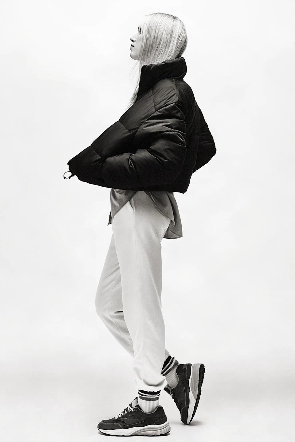 <p>If you're looking for an affordable, versatile style, this <span>Zara Water and Wind Protection Cropped Puffer Jacket</span> ($60) is it. A cropped puffer looks good with everything from high-waisted jeans to a dress and tights.</p>