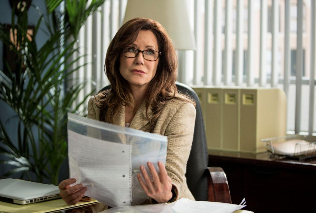 "Mary McDonnell in the ""Major Crimes"" episode, ""False Pretenses."""