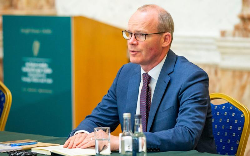 "Simon Coveney, the Irish Foreign Minister said it would be an ""enormous failure of politics and diplomacy"" if the deal could not be agreed by the end of October deadline - Tom Honan/PA"