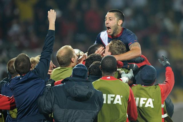 Clint Dempsey scored at the 2006, 2010 and 2014 World Cups, all the while inspiring the next generation of USMNT players. (Getty)