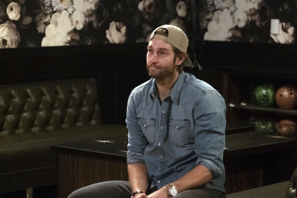 "VERY CAVALLARI -- Episode 206 ""The One Where Jay Goes Cray"" --- Pictured: Jay Cutler -- (Photo by: Jake Giles Netter/E! Entertainment/NBCU Photo Bank/NBCUniversal via Getty Images)"
