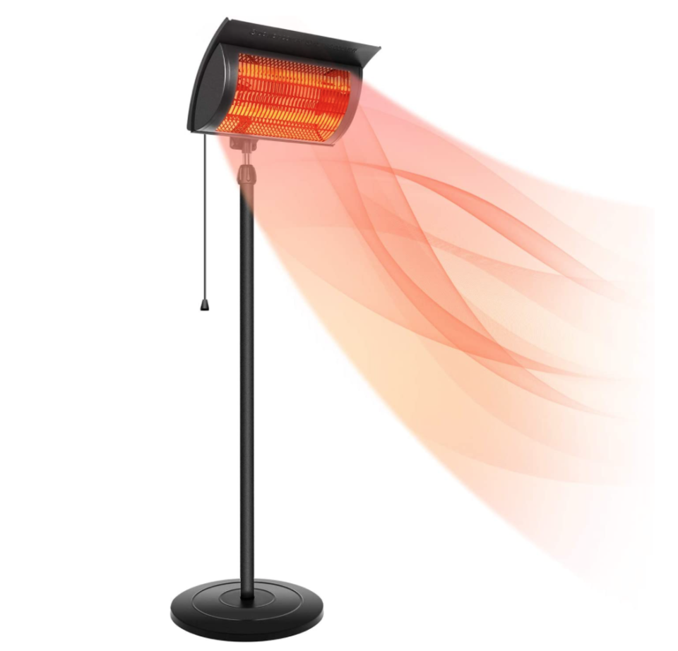 Simple Deluxe Standing Heater Patio Outdoor Heater.