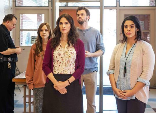 """<p><b>What's Coming Up:</b> At the end of <i>Casual</i>'s first season, it appeared that the show's three drama-prone family members and accidental housemates — recent divorcée Valerie (Michaela Watkins), her slacker brother Alex (Tommy Dewey), and her too-precocious teenager daughter, Laura (Tara Lynne Barr) — had reached a tentative peace. But in Season 2, """"We're all living under the same roof, but there's a palpable distance between us,"""" says Watkins. """"The only thing we have in common is that our world is getting bigger with new friends and work and school situations. We have to leave each other in order to come back to each other.""""<br><br><b>Oversharing Encouraged:</b> <i>Casual</i> creator Zander Lehmann and the writers often mine the actors' lives for material. """"It's even something as stupid as an argument that my husband and I had about donuts,"""" Watkins says. """"I was really excited about them, and he had accidentally eaten one and I was devastated. One day, Zander and Helen [Estabrook, <i>Casual</i>'s executive producer] told me, 'You haven't read this episode yet? Get ready for some donuts!'"""" <i>— Ethan Alter</i><br><br><i>(Credit: Hulu)</i> </p>"""