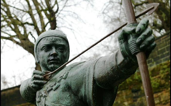 Given it is the home of Robin Hood, Nottingham on paper should be thriving, not declining - Andrew Crowley for The Telegraph