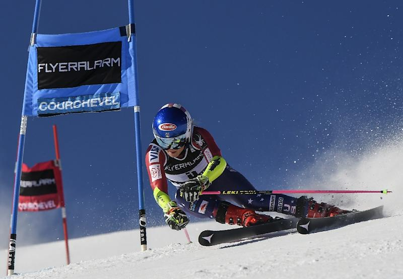 Shiffrin beats Worley to win a World Cup giant slalom