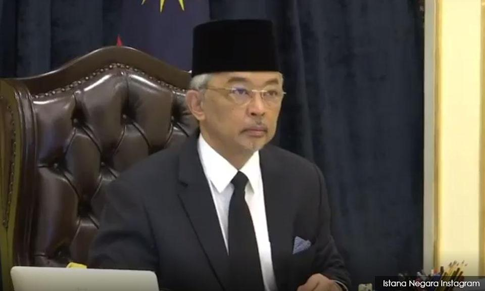 Agong to discuss cabinet's suggestions with other rulers, calls for calm