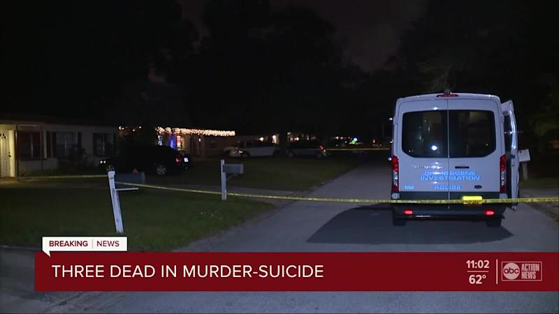 Three adults dead in murder-suicide, four children rescued from scene in Lakeland