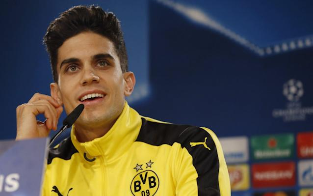 <span>A file picture dated 06 December 2016 of Borussia Dortmund's Spanish defender Marc Bartra</span> <span>Credit: EPA </span>
