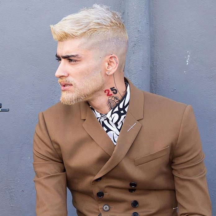Zayn Maliks New Hair Color Is A Classic Breakover Move