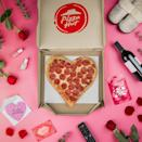 "<p><a href=""https://www.pizzahut.com/"" rel=""nofollow noopener"" target=""_blank"" data-ylk=""slk:Pizza Hut"" class=""link rapid-noclick-resp"">Pizza Hut</a> traditionally offers heart-shaped pizzas starting at $11.99 for Valentine's Day. Check back for details on this year's deals!</p>"