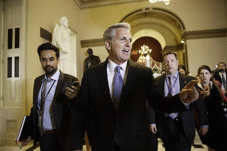 Eric Cantor was criticized for being too cozy with big business. Who funds Kevin McCarthy?