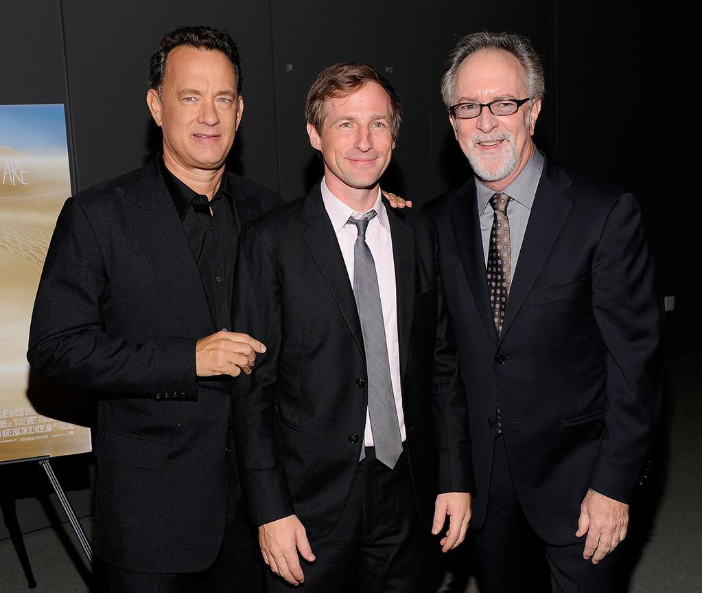 "<a href=""http://movies.yahoo.com/movie/contributor/1800010392"">Tom Hanks</a>, <a href=""http://movies.yahoo.com/movie/contributor/1800019717"">Spike Jonze</a> and <a href=""http://movies.yahoo.com/movie/contributor/1800095209"">Gary Goetzman</a> at the New York City premiere of <a href=""http://movies.yahoo.com/movie/1808412037/info"">Where the Wild Things Are</a> - 10/13/2009"
