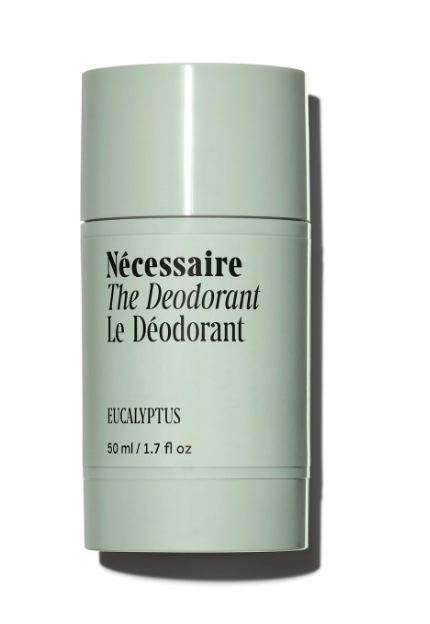 """<p>necessaire.com</p><p><strong>$20.00</strong></p><p><a href=""""https://necessaire.com/products/the-deodorant?variant=18656721338483"""" rel=""""nofollow noopener"""" target=""""_blank"""" data-ylk=""""slk:Shop Now"""" class=""""link rapid-noclick-resp"""">Shop Now</a></p><p>On the hunt for a deodorant that really works, but still looks chic on your vanity? Look no further than Nécessaire's new eucalyptus deodorant.</p>"""