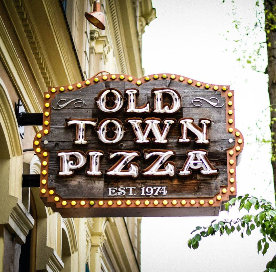 "<p>Portland, Oregon's <a href=""http://www.oldtownpizza.com/"">Old Town Pizza</a> is said to be haunted by the ghost of Nina, a prostitute who died under mysterious circumstances back when the building was home to the Merchant Hotel. ""In an effort to clean up the neighborhood, traveling missionaries convinced Nina to share information in exchange for freeing her from a fate she did not choose,"" explains <a href=""http://www.oldtownpizza.com/haunted.html"">Old Town Pizza's website</a>. ""Nina cooperated but soon afterward was found dead in the hotel, now Old Town Pizza. Thrown down the elevator shaft, Nina is reported to have never left the building."" The shaft is now ""the backdrop of a cozy booth in the rear of the restaurant,"" making it the spookiest place ever to knock back a few slices of 'za. <i>(Photo: <a href=""https://www.facebook.com/pages/Old-Town-Pizza/100847979468?fref=photo"">Old Town Pizza</a>/Facebook)</i></p>"
