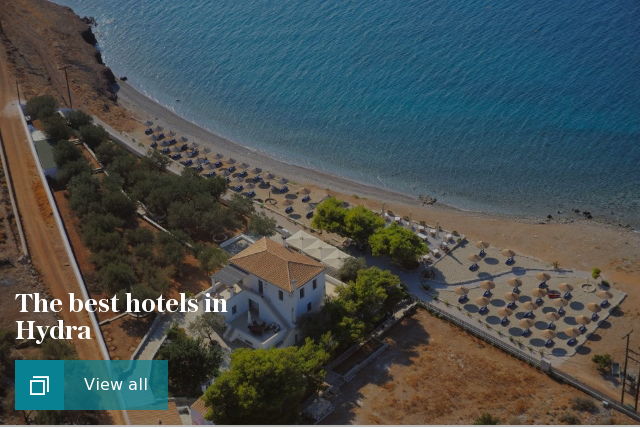 The best hotels in Hydra