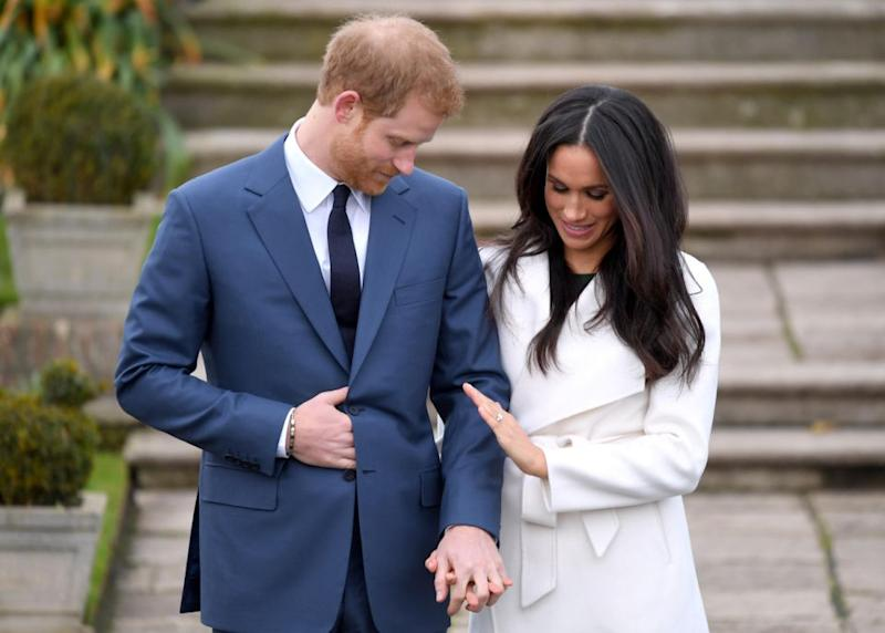 With Prince Harry designing Meghan's ring, there's no doubt the wedding will have special personal touches as well. Photo: Getty