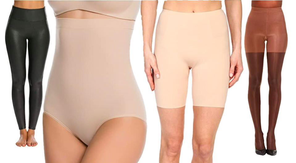 Spanx in all shapes and sizes. (Photo: Zappos)