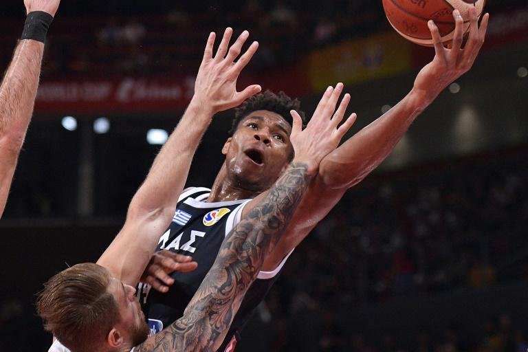 Giannis Antetokounmpo had 12 points, nine rebounds and four assists against the Czech Republic before he was fouled out