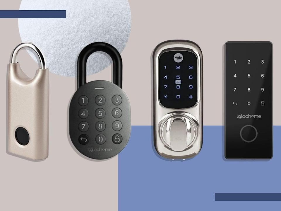 We tested these locks on outdoor doors, containers and sheds, and secured them with the biometric systems and smartphone apps (iStock/The Independent)