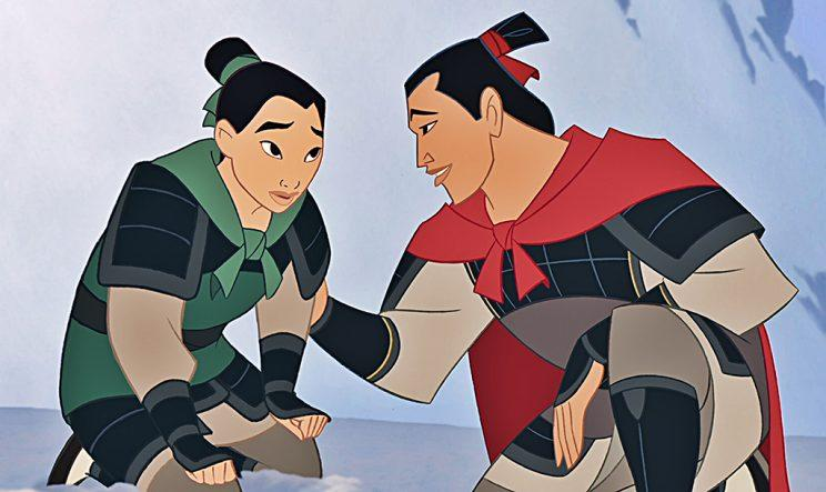 The characters Mulan and Li Shang in 'Mulan' (Photo: Disney)