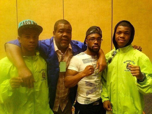 "(From left to right) Gary Antonio Russell, Gary Allen Russell Sr., Gary Allen Russell Jr. and Gary Antuanne Russell (Courtesy of <a class=""link rapid-noclick-resp"" href=""/olympics/rio-2016/a/1108963/"" data-ylk=""slk:Gary Russell"">Gary Russell</a> Jr.)"