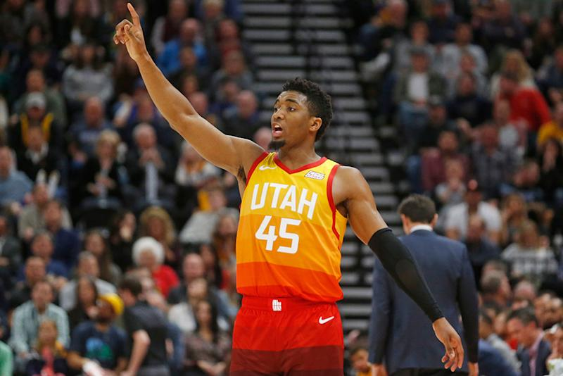 Adidas Reveals NBA Star Donovan Mitchell s First Signature Shoe fab5b9ae85